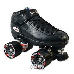 Riedell R3 Black Roller Derby Skates