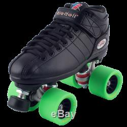 Riedell R3 Green Demon Roller Skate package 95a Rink setup