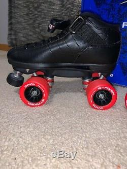 Riedell R3 Outdoor Roller Skates size 6 Black DUMY999 A5