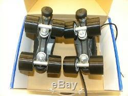 Riedell R3 Size 3 Speed Quad Skates Cayman Sonar Wheels PowerDyne Plates NEW
