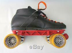 Riedell RS-1000 Roller Skates Sunlite II Plates Hyper Witch Doctor Wheels Sz 11