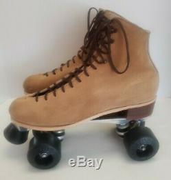 Riedell Red Wing 130 L Roller Skates Suede Mens 10 Sure-Grip Super X 8L Kryptos