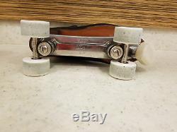 Riedell Red Wing Minnesota CHICAGO CUSTOM Rollerskate Rollschuhe Vintage 60er 42