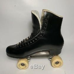Riedell Red Wing Roller Skates 2737 Size 12 Snyder Skate With Star HD 80 Wheels