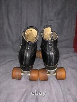 Riedell Red Wing Roller Skates Men's Size 9 F0 Chicago Custom Zinger Wheel
