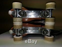 Riedell Red Wing Roller Skates Mens Sz 10 M Douglass Snyder Custom Built Skates