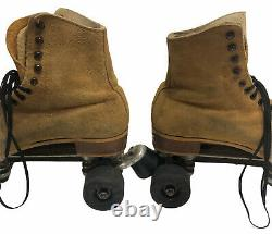 Riedell Red Wing Roller Skates Suede Skatey's Venice California VTG READ