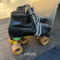 Riedell Red Wing Sure Grip Magnum 7 Roller Skates Men's Size 9 L1 USA Sims Fang