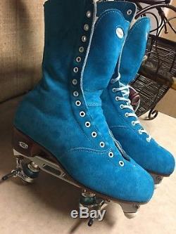 Riedell Roller Skate OG, 172, size 7 1/2 men, 9 1/2 women's, Roll Line Plate