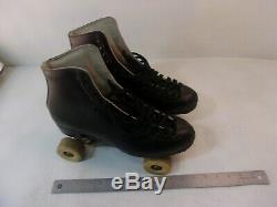 Riedell Roller Skates 121 Black Size 11 Hyper Dance Wheels Sunlite USA