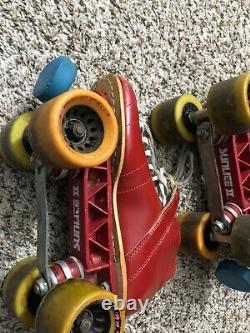 Riedell Roller Skates 395 595 Inline Racing RS-1000 Witch Doctor