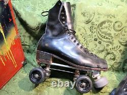 Riedell Roller Skates Chicago Custom Gm II Men Size 8 Metaflex Easy Rider