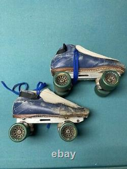 Riedell Roller Skates Handmade USA Inline Racing Witch Doctor RARE 650