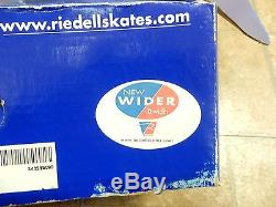 Riedell Roller Skates Model 120 Black Size 9 Width D Never Used With Extras
