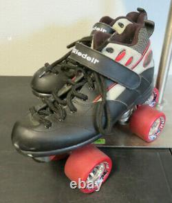Riedell Roller Skates Riedell Size 7 108 Targa Boot Sure Grip Frame Wheels