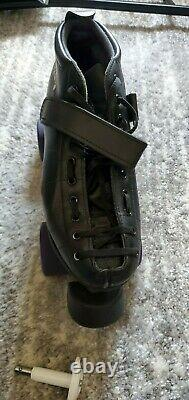 Riedell Roller Skates Size 8 Men's 9-9.5 Women's with extra wheels and toe stops