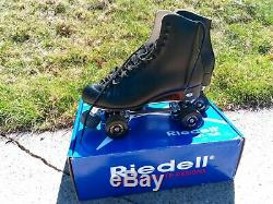 Riedell Roller Skates Snyder Model 220R SIZE 11 Med with Free-Style Fo-Mac Wheels