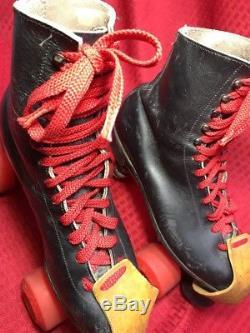 Riedell Roller Skates Sure Grip skates Super X 6L Kryptos Men's size 8