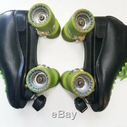 Riedell Roller Skates Texon Leather / Sure Grip Base /Hyper Cannibal Wheels