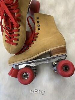 Riedell Roller Skates size 6 Vintage 130 M