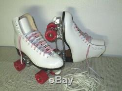 Riedell Royal SkatesSnyder PlatesPrecision Bearings Maxam WheelsWomen Sz-7.5