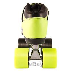 Riedell Skates Dart Ombré Quad Roller Speed Skate Green & Black Size 10