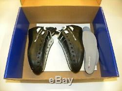 Riedell Solaris Black Skate Boots Size 5 Quad Roller Skate Boot Set Men's