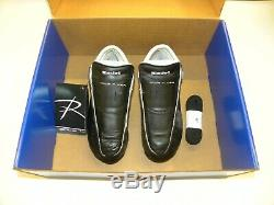 Riedell Solaris Black Skate Boots Size 7 Quad Roller Skate Boot Set Men's
