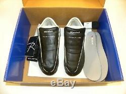 Riedell Solaris Black Skate Boots Size 8 Quad Roller Skate Boot Set Men's