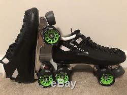Riedell Solaris Roller Derby skates size 8 Custom Build