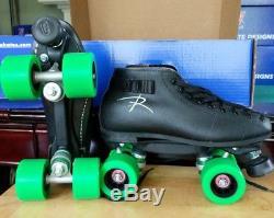 Riedell Spark 122 Roller Skates Size 9 (width D/B)