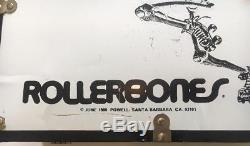Riedell Sunlite II Roller Skates Rollerbones Womens Rare 1980 Case Maniac Wheels