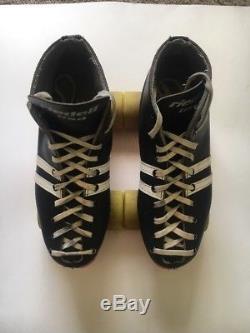 Riedell Sunlite II Roller Skates Rollerbones Womens Rare Case Maniac Wheels