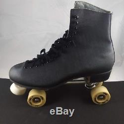 Riedell Sure Grip Competitor 9L & 9R black Roller Skates size 13 mens