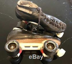 Riedell Sz. 11 595 Roller/Speed/Jammer/Quad Skates With Laser Plates