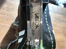 Riedell USA Roller Derby Skates With Labeda Pro-Line 750 Plate Black White $949