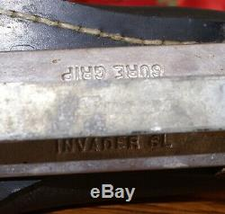 Riedell USA Speed Derby Roller Skates Mens 10.5/11 Sure Grip Invader Plates