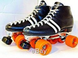Riedell USA Speed Skates Roller Sure Grip INVADER 6 LABEDA SPRINTER Mens Sz 10