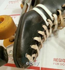 Riedell USA Sure-Grip Invader 9 Roller Skates (12.5 x 4 insole) Size 13 14