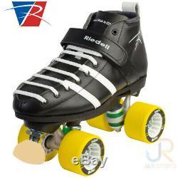 Riedell Vandal DERBY Complete Skate Black Mens's Size 8 NIB