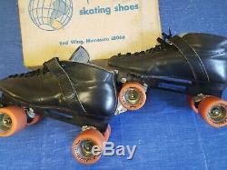 Riedell Vintage Speed Roller Skates Size 10