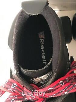 Riedell Vixen 165 Graffiti Signature 8 Derby Roller Skates Black LowCut Boot