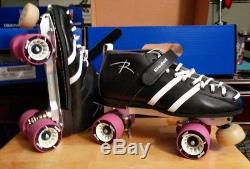 Riedell Wicked 265 Roller Skates Size 10 D/B