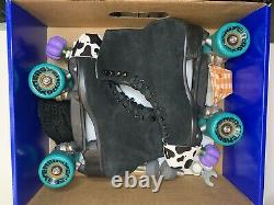 Riedell Zone Outdoor Roller Skates Like MOXI Size 9 Womens