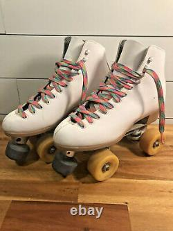 Riedell hyper glide dance roller skates competitor 4L Sure Grip womans size 7.5