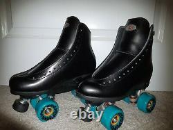 Riedell outdoor roller skates size 7 black