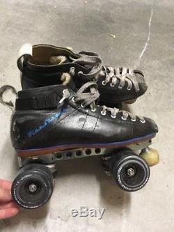 Riedell roller skates Blue Streak Derby Skates 7