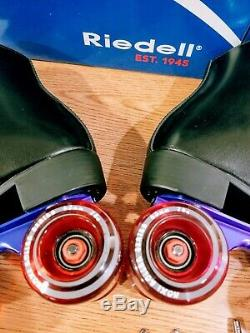 Riedell roller skates size 9