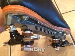 Riedell speed skates roller skates, 495 D/B size 10