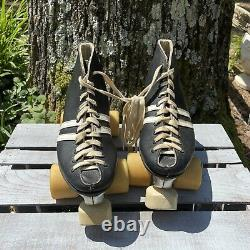 Riedell vintage speed roller skates sure grip invader Size 6 Mens Womens 7.5